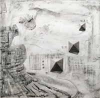 Giza, Charcoal on Paper, 2018